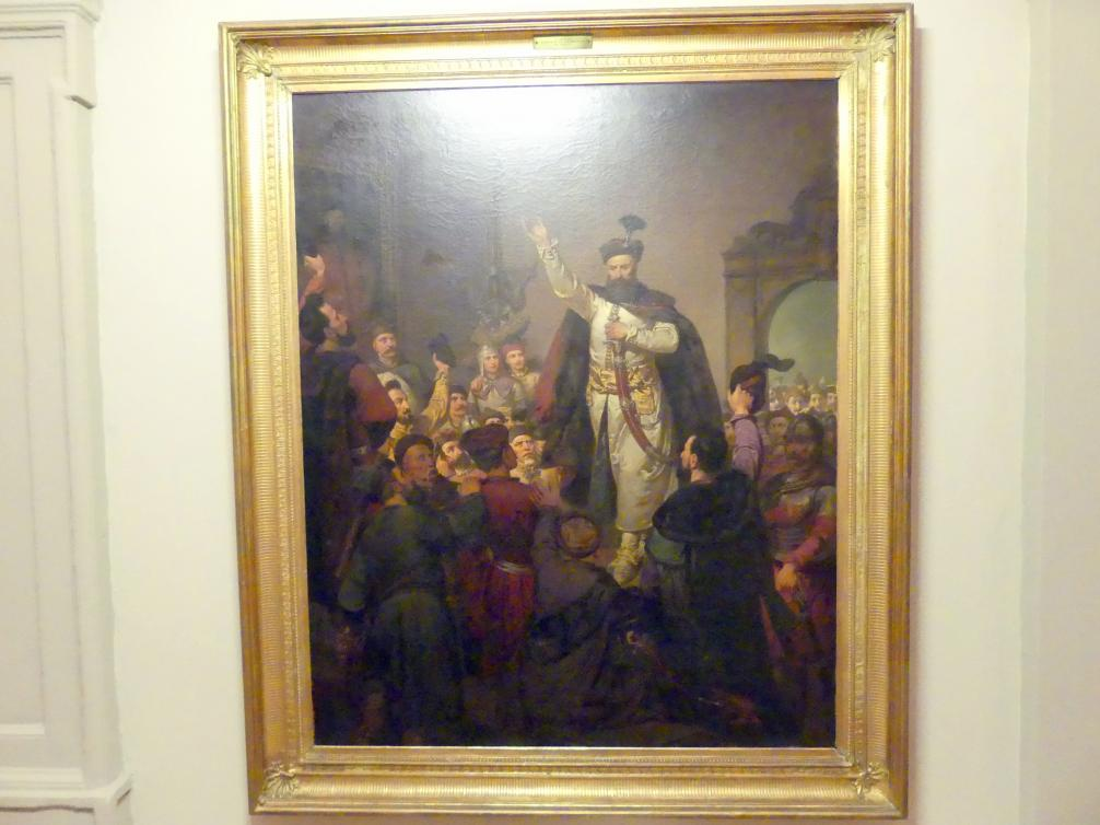 Walery Eljasz-Radzikowski: Gründung der Konföderation von Tyszowce, 1863