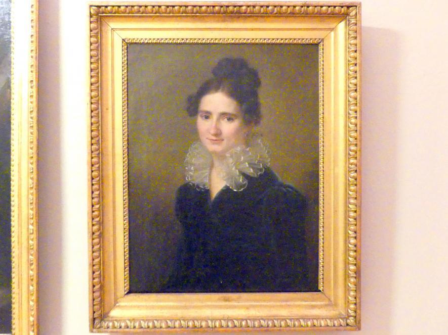Karl Gottlieb Schweikart: Porträt der Antonina Jaśkiewicz, 1818