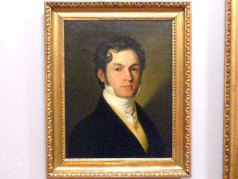 Jan Maszkowski: Selbstporträt, Um 1820
