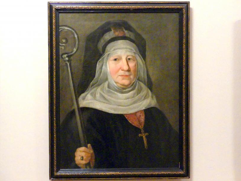 Porträt der Makryna Mieczysławska (falsche Nonne), Mitte 19. Jhd.