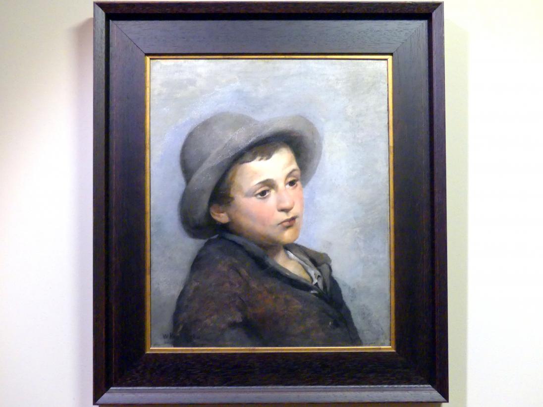 Wacław Koniuszko: Porträt eines Jungen, Undatiert