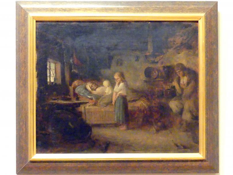 Aleksander Kotsis: Mutter ist gestorben, 1868, Bild 1/2