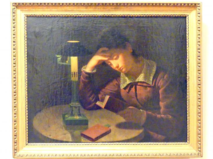 Karl Gottlieb Schweikart: Porträt der Wilhelmina Skibinska, um 1830