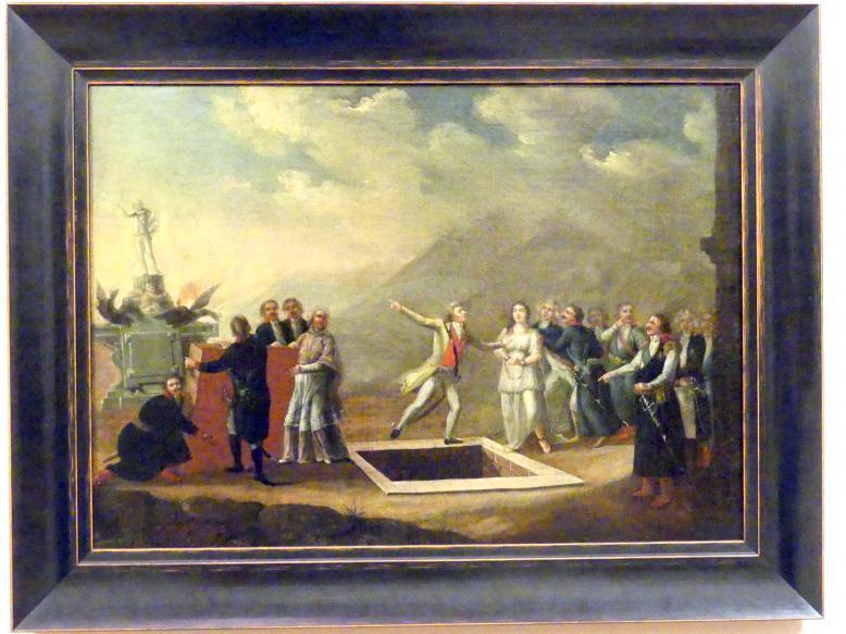 Franciszek Smuglewicz: Das Grab des Vaterlandes, 1794