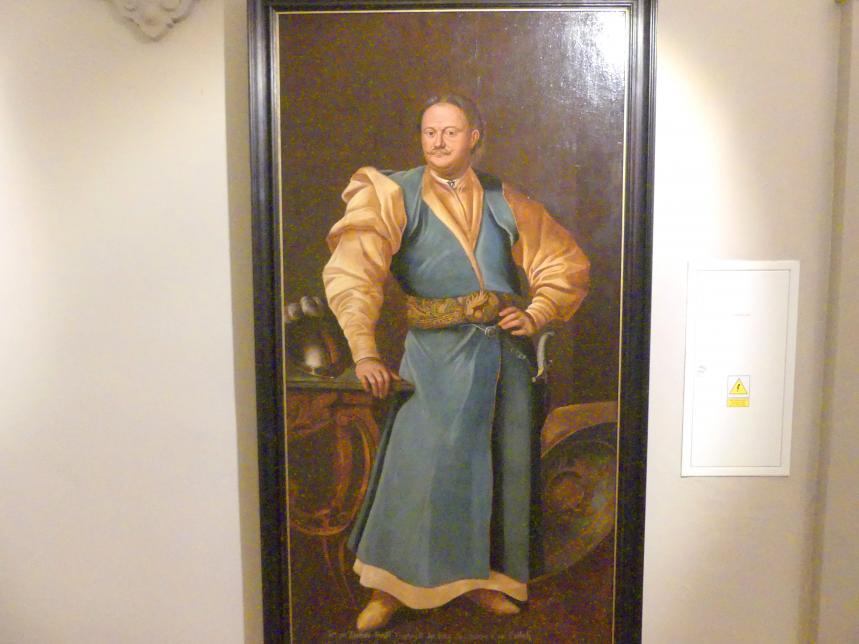 Porträt des Kazimierz Aleksander Ossoliński, Mitte 18. Jhd.
