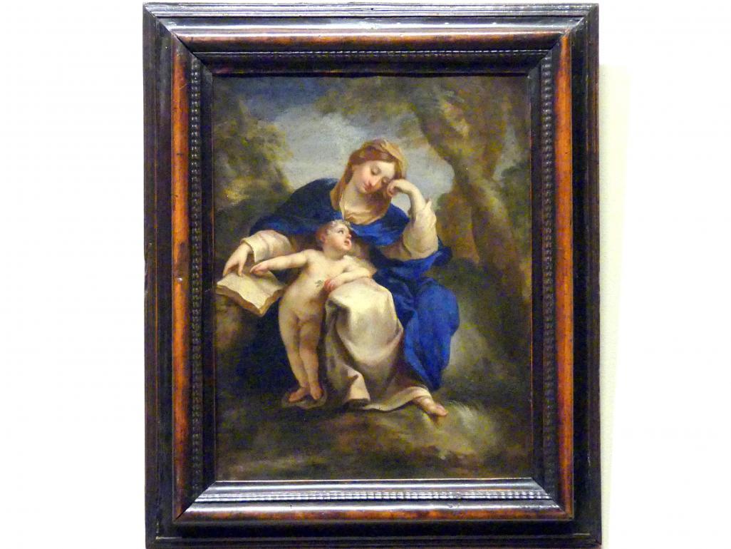 Jerzy Siemiginowski-Eleuter: Maria mit Kind, vor 1684