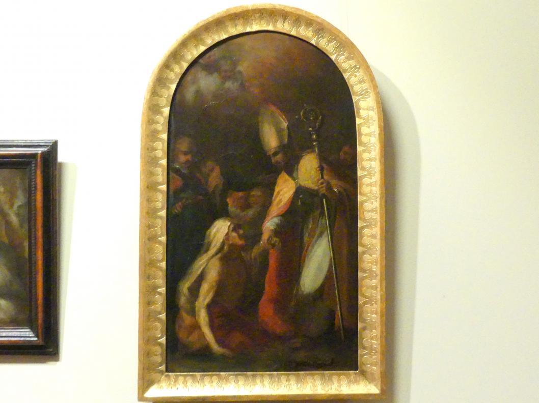 Tadeusz Kuntze: Bischof Stanisław von Szczepanów erweckt Piotrowin von den Toten, 1756