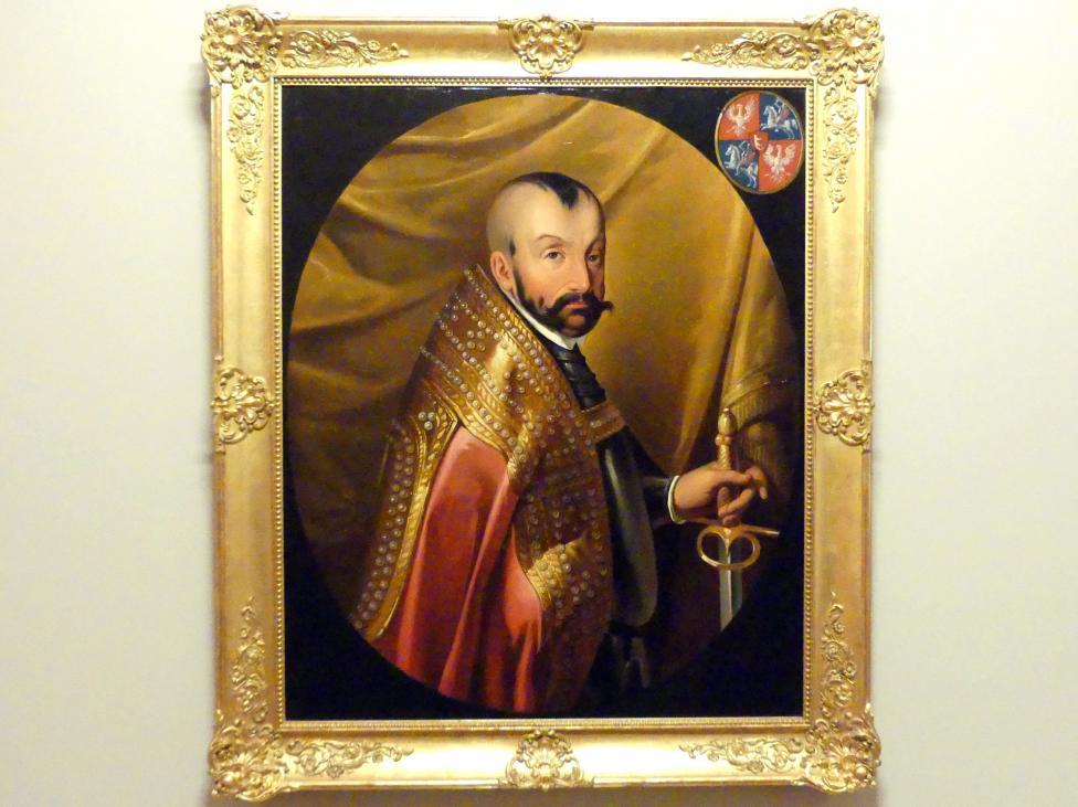 Aleksander Raczyński: Porträt des Königs Stephan Báthory (1533-1586), 1854, Bild 1/2