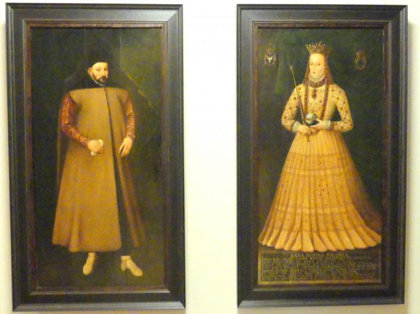 Martin Kober (Nachfolger): Porträt der Anna Jagiellonica (1523-1596), Undatiert