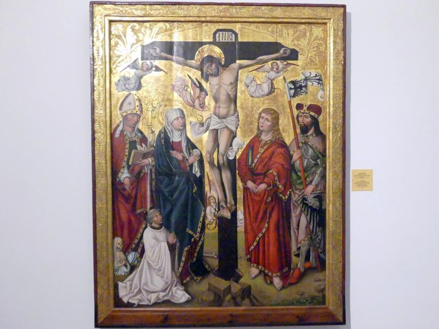Meister von 1486-1487 (Meister der Jahreszahlen) (Werkstatt): Kreuzigung, 1510