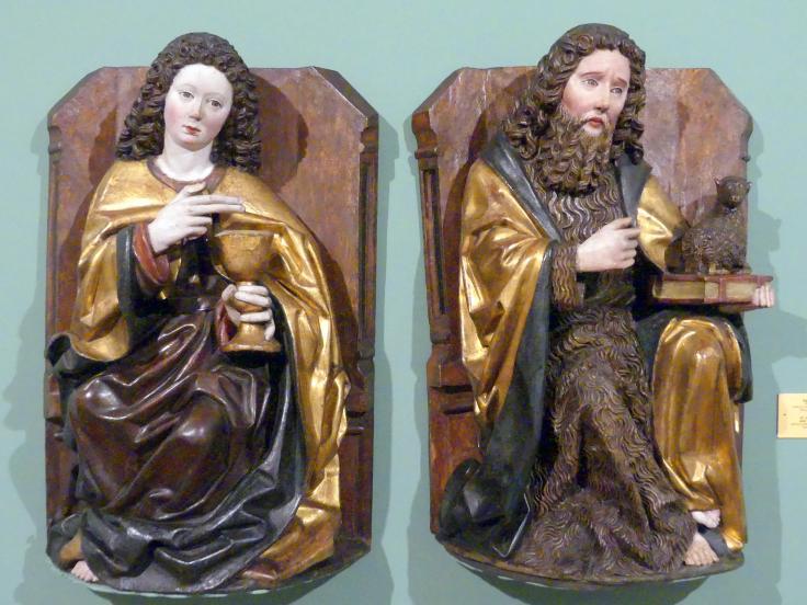 Hll. Johannes Evangelist und Johannes der Täufer, um 1480