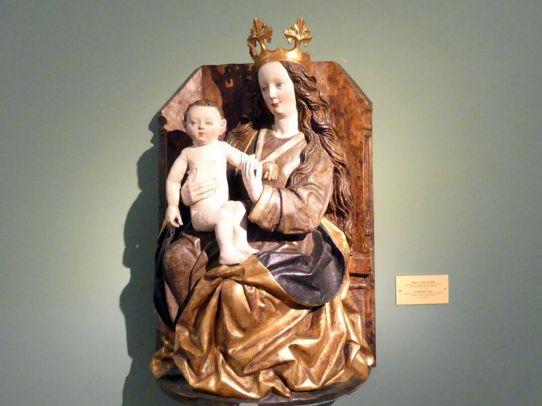 Maria mit Kind, um 1480