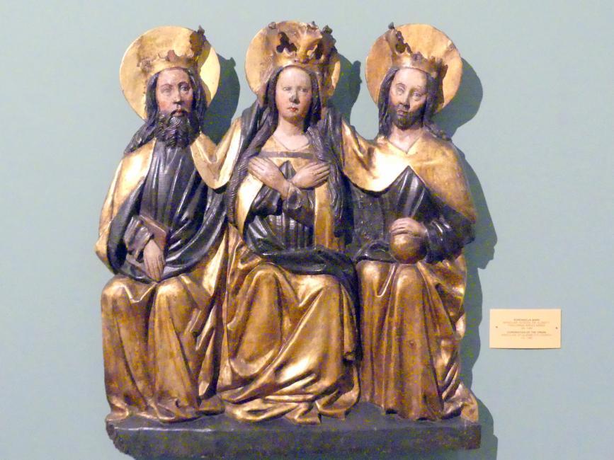 Krönung Mariens, um 1460