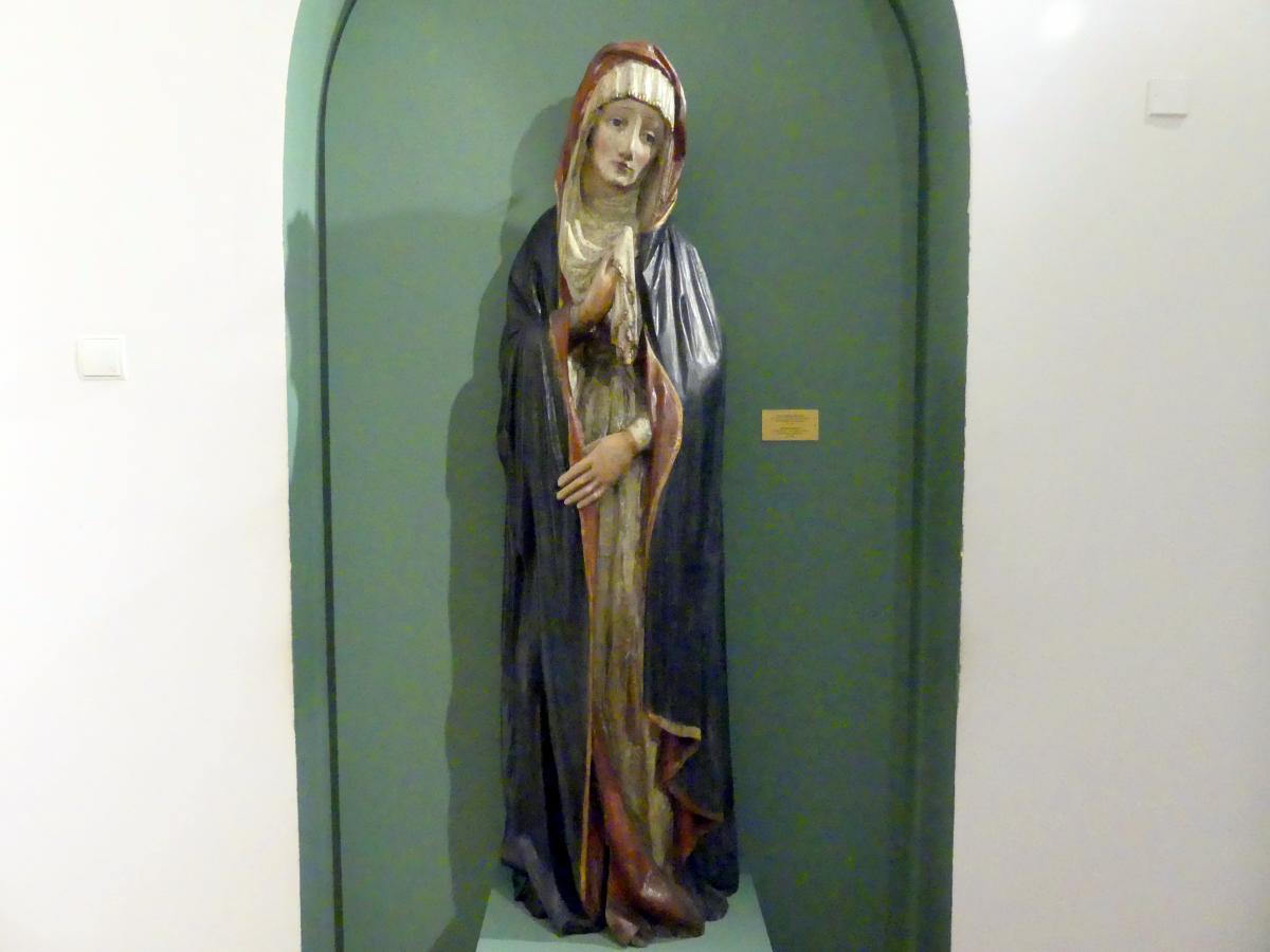 Schmerzhafte Muttergottes, um 1450