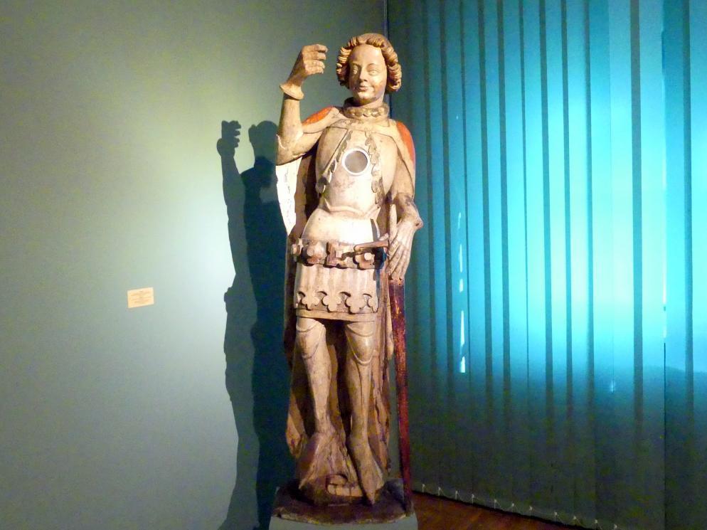 Meister der Apostelfiguren (Breslau) (Werkstatt): Ritter, 2. Drittel 14. Jhd.
