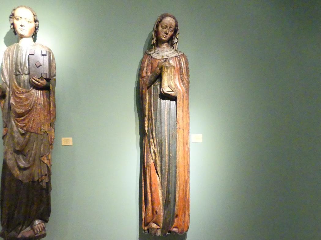 Meister der Apostelfiguren (Breslau) (Werkstatt): Heilige Maria Magdalena, 2. Drittel 14. Jhd.