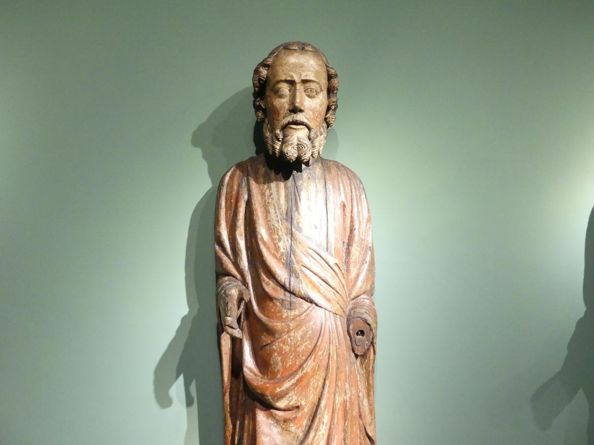 Meister der Apostelfiguren (Breslau) (Werkstatt): Apostel Petrus (?), 2. Drittel 14. Jhd.