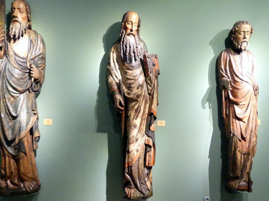 Meister der Apostelfiguren (Breslau) (Werkstatt): Apostel Paulus, 2. Drittel 14. Jhd.