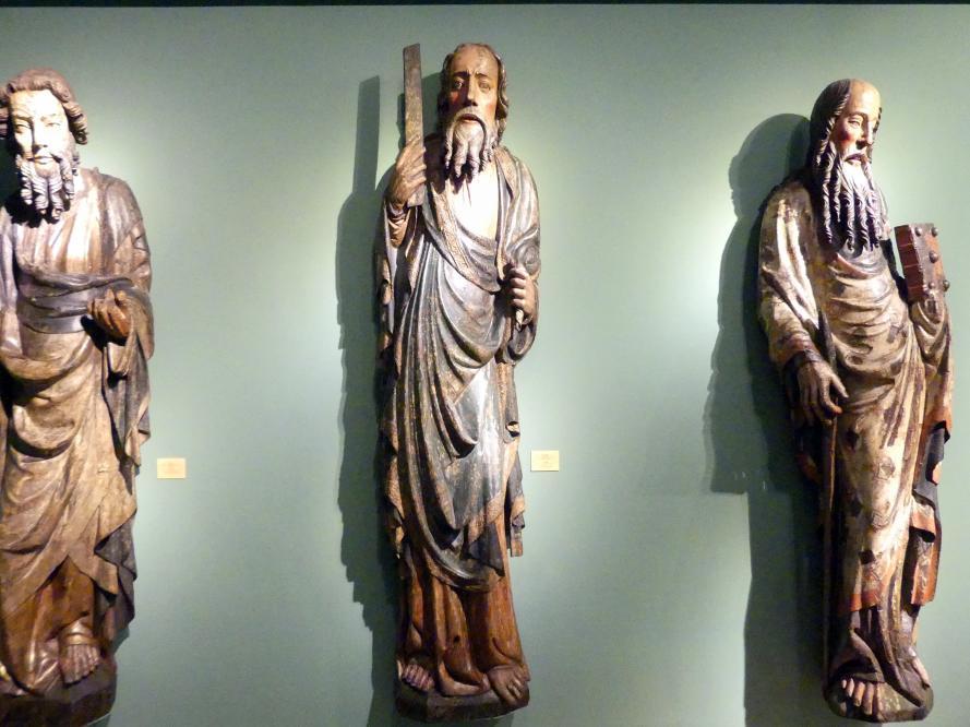 Meister der Apostelfiguren (Breslau) (Werkstatt): Hl. Andreas, 2. Drittel 14. Jhd.