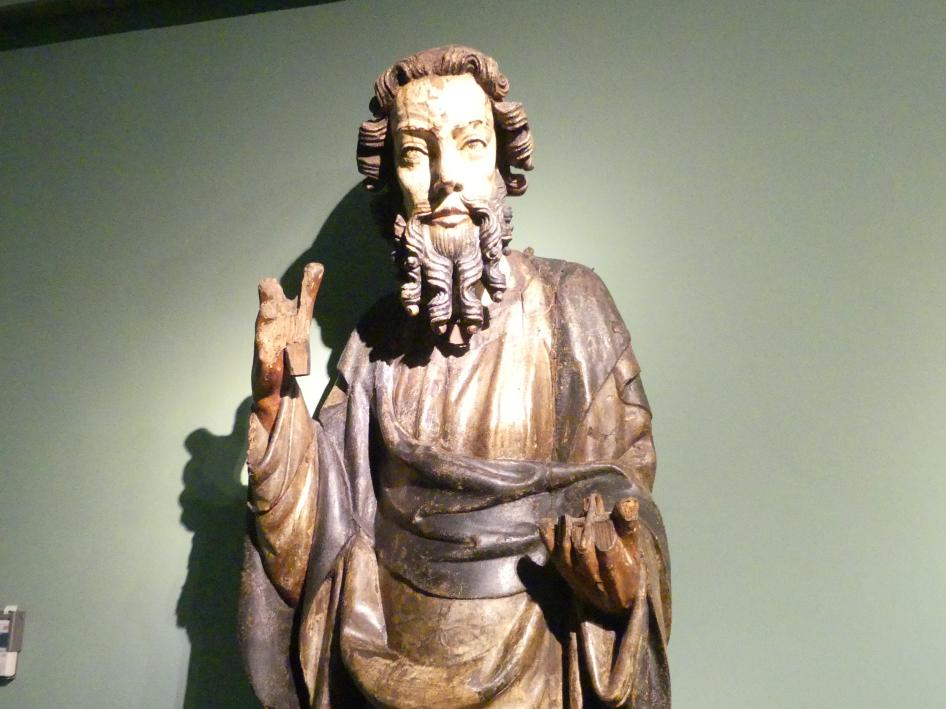 Meister der Apostelfiguren (Breslau) (Werkstatt): Apostel, 2. Drittel 14. Jhd., Bild 2/3