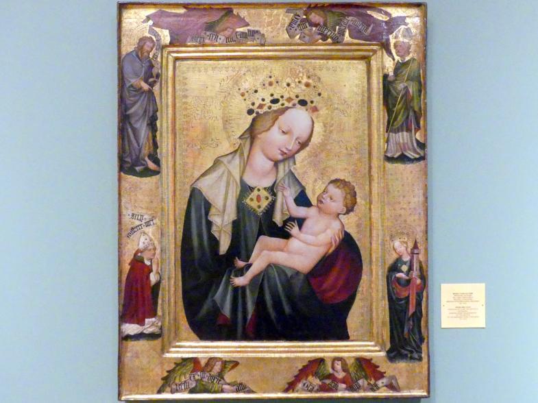 Meister der Madonna von Vyšší Brod (Werkstatt): Maria mit Kind, um 1410