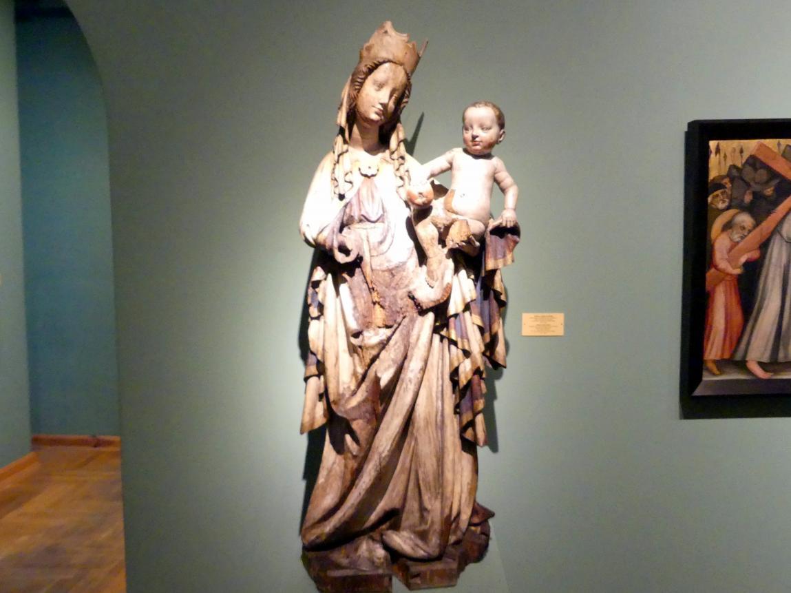 Maria mit Kind, um 1400