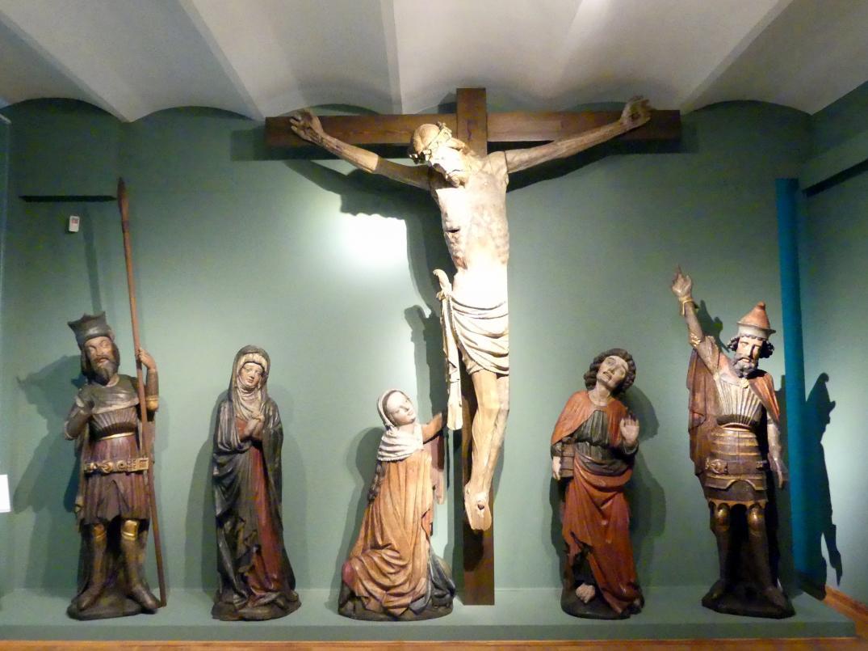 Kreuzigungsgruppe, Um 1420 - 1430