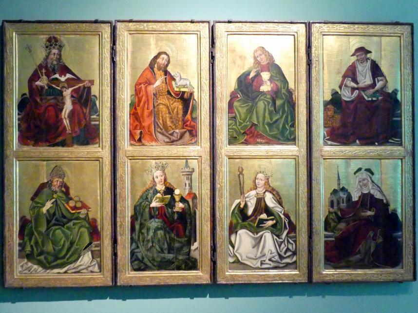 Tafeln eines Flügelaltar, um 1470 - 1480