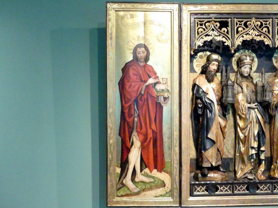 Meister des Verkündigungs-Polyptychons (Werkstatt): Triptychon der Heiligen Hedwig, 1470 - 1480, Bild 2/5