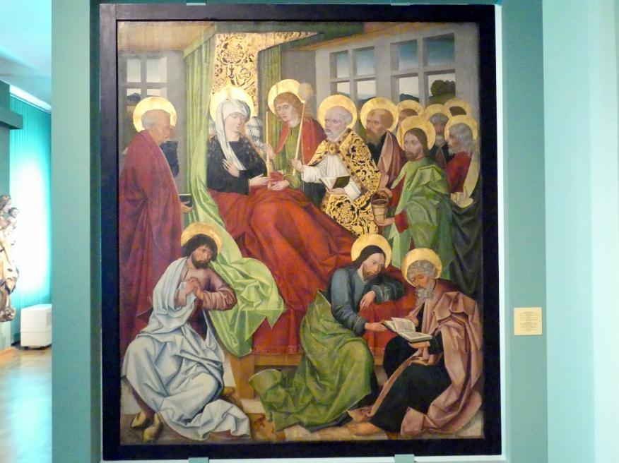 Meister von 1486-1487 (Meister der Jahreszahlen) (Werkstatt): Dormition (Entschlafen der Gottesgebärerin), 1486 - 1487