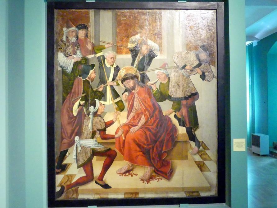 Meister von 1486-1487 (Meister der Jahreszahlen) (Werkstatt): Dornenkrönung Christi, 1486 - 1487