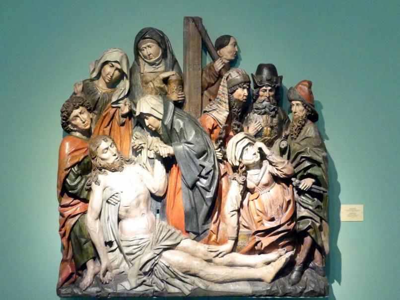 Meister der Dormition des Schweidnitzer Polyptychons (Werkstatt): Beweinung Christi, 1493