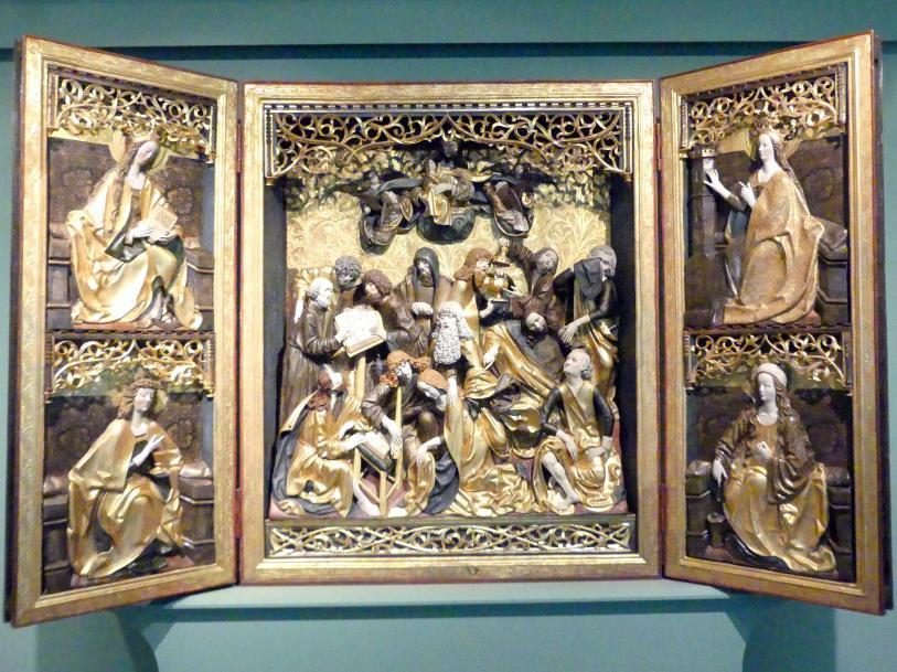Meister der Dormition: Polyptychon der Dormition (Entschlafung Mariens), 1492