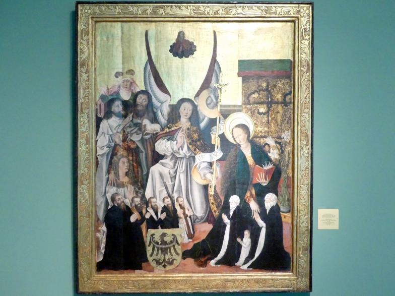 Mariä Verkündigung, um 1500