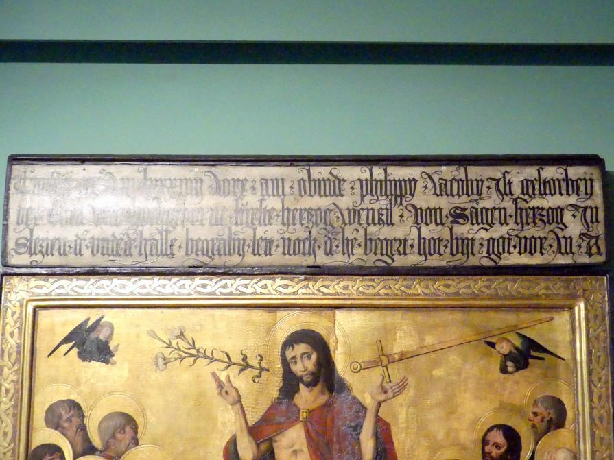 Meister von 1486-1487 (Meister der Jahreszahlen) (Werkstatt): Jüngstes Gericht, 1488