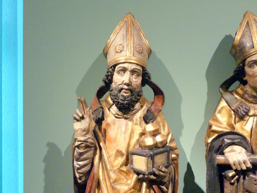 Heiliger Nikolaus und Heiliger Wolfgang, Um 1490