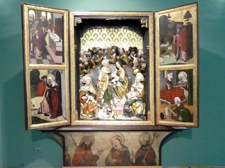 Breslauer Meister der Heiligen Familie (Umkreis): Flügelaltar der Heiligen Sippe, 1499