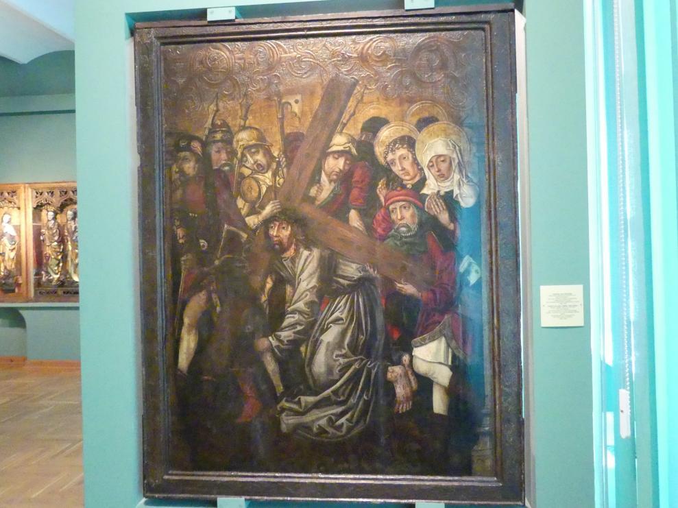 Christus fällt unter dem Kreuz, 1492 - 1493