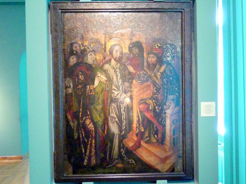 Christus vor Pilatus, 1492 - 1493