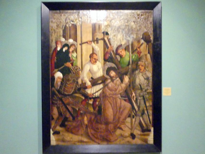 Christus fällt unter dem Kreuz, 1512 - 1513