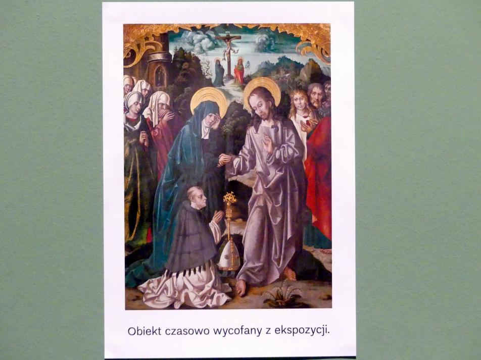 Christus nimmt in Bethanien Abschied von seiner Mutter, um 1515