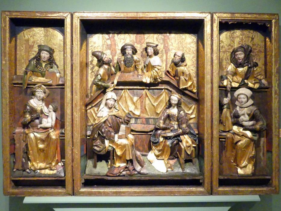 Triptychon der Heiligen Sippe, 1514