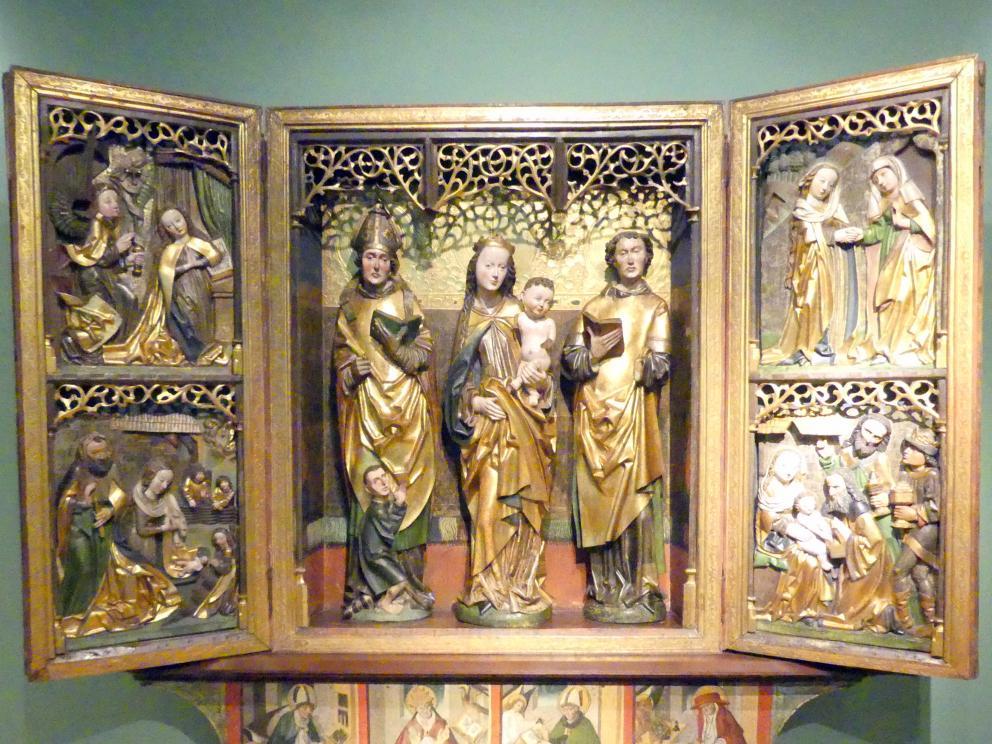 Flügelaltar Maria mit Kind, Hll. Martin und Lauentius (?), 1505
