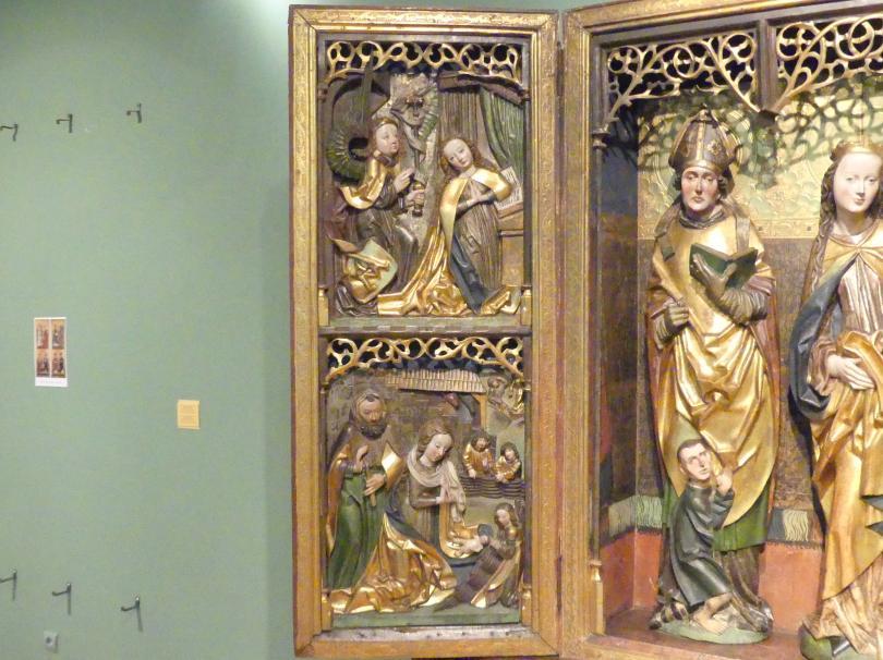 Flügelaltar Maria mit Kind, Hll. Martin und Lauentius (?), 1505, Bild 2/6