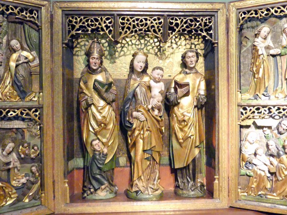 Flügelaltar Maria mit Kind, Hll. Martin und Lauentius (?), 1505, Bild 3/6