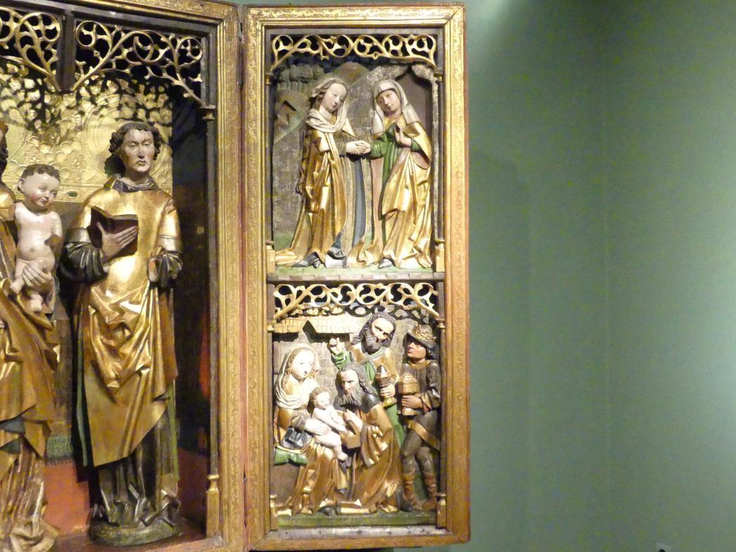Flügelaltar Maria mit Kind, Hll. Martin und Lauentius (?), 1505, Bild 4/6
