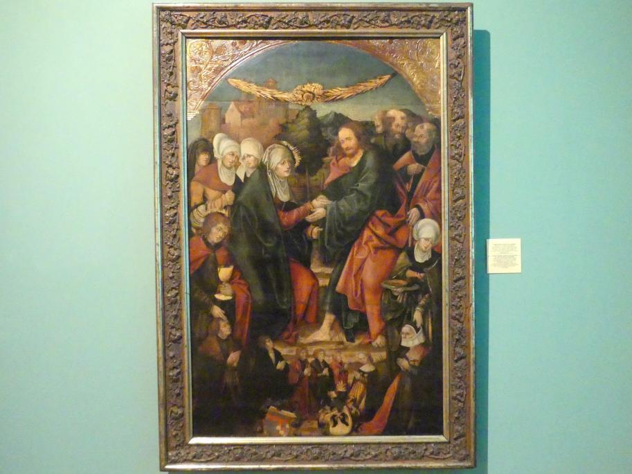 Christus nimmt Abschied von seiner Mutter in Bethanien, 1520 - 1530