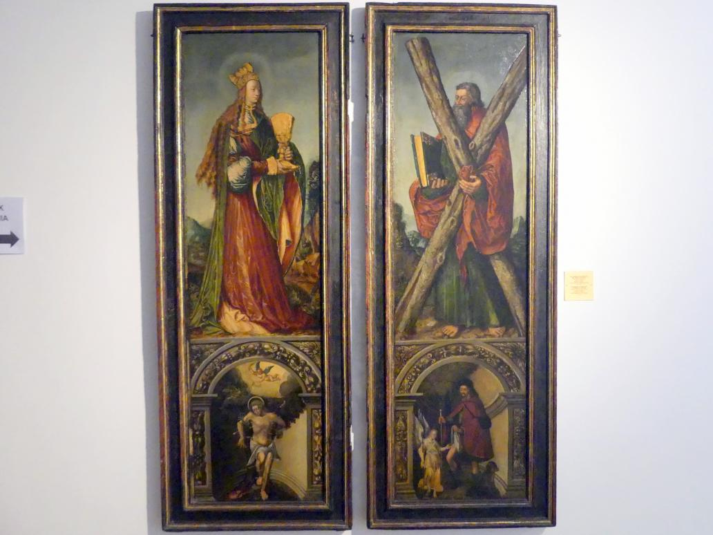 Tafeln eines Flügelaltars aus Stare Olesno, um 1525