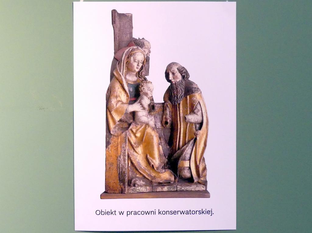 Anbetung der Könige (Fragment), um 1520