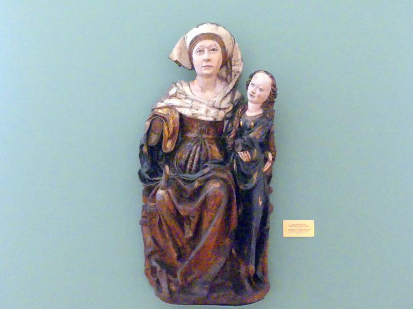 Jakob Beinhart (Werkstatt): Heilige Anna Selbdritt, 1500 - 1510
